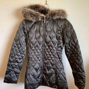 Laundry Shelli Segal Puffer Down Jacket Fur hood
